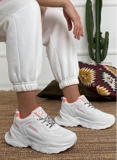 Dark Seer Ds3.5207 Sneaker 2021 Kadın Beyaz